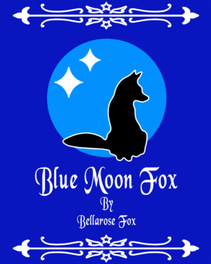Blue moon fox book cover for electronic