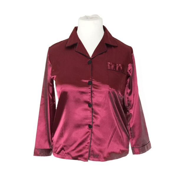 Lady Red Pajamas 1